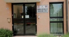 Taglio del nastro per la sala operativa della Protezione Civile