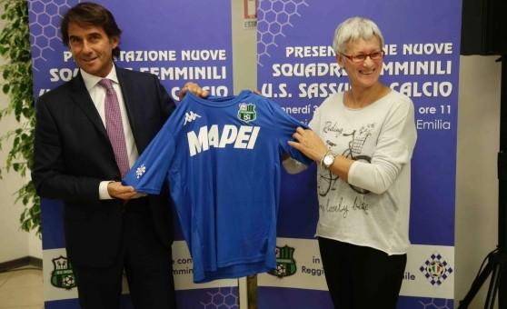 Calcio femminile: la Reggiana entra in orbita Mapei